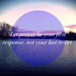 prayer first response